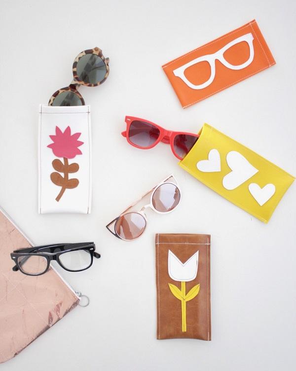 Video tutorial: Simple vinyl sunglasses case