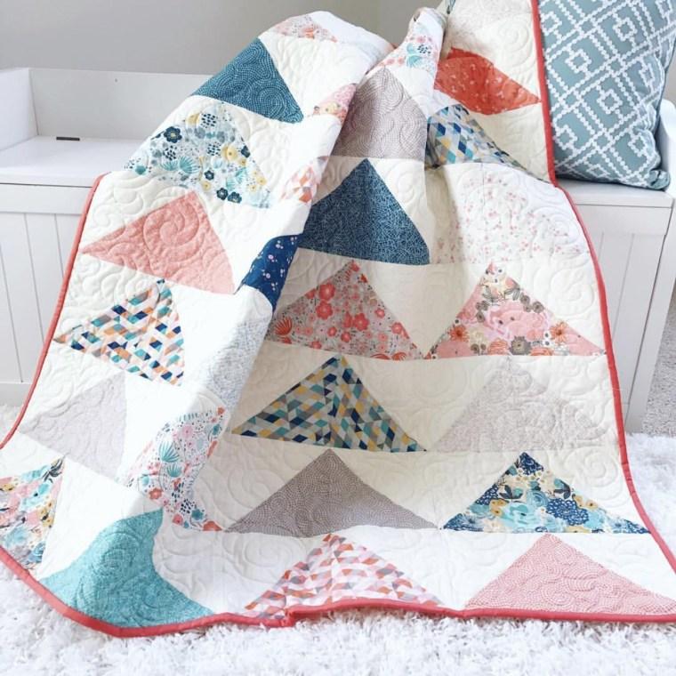 Tutorial: Minimal Triangles quilt
