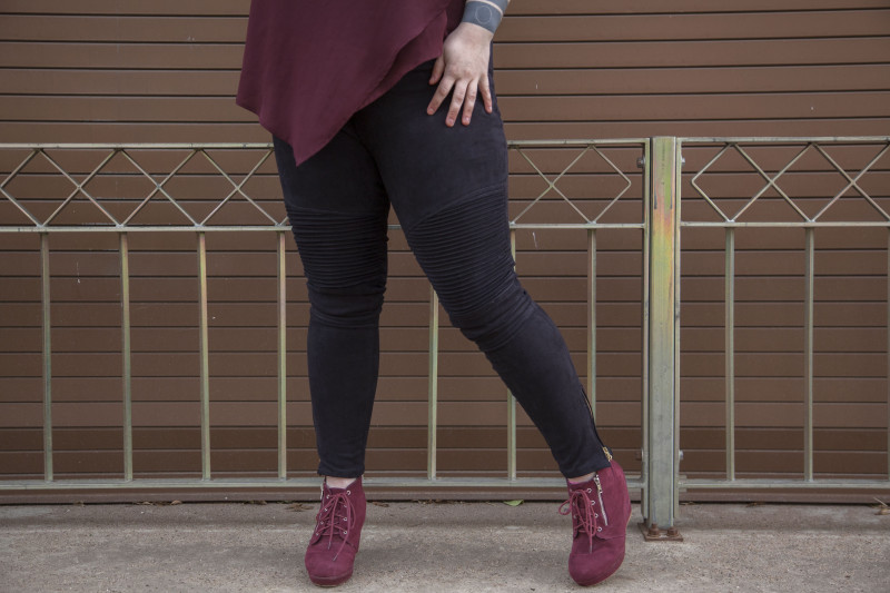 Tutorial and pattern: Lotus leggings