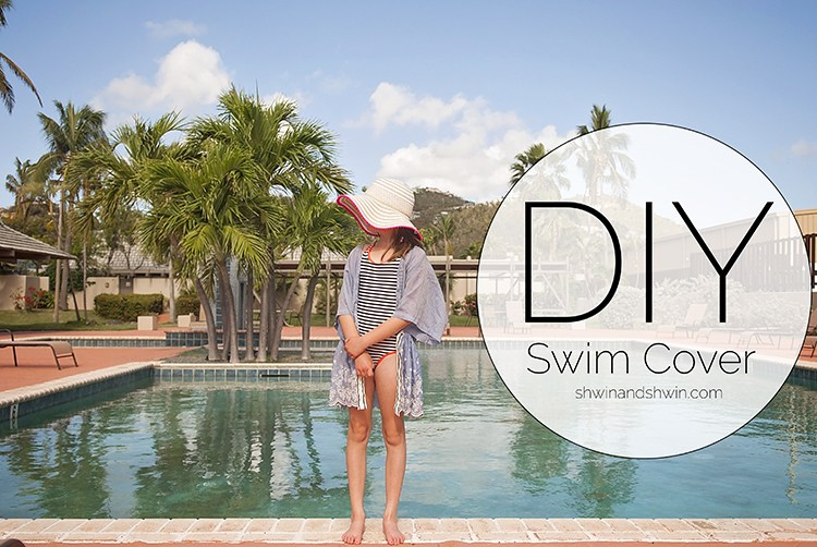 Tutorial: DIY swim cover up in any size