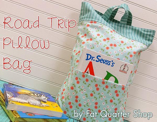Tutorial: Road Trip Pillow Bag