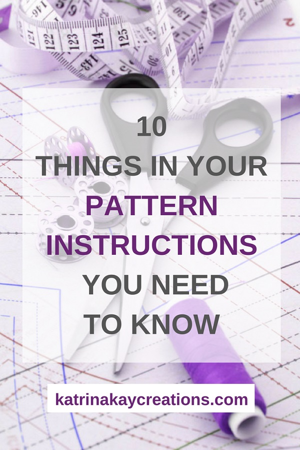 Sewing tutorial: How to read a printed sewing pattern – Sewing