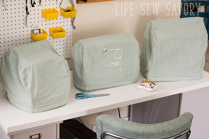 Sewing tutorial: Custom sewing machine cover