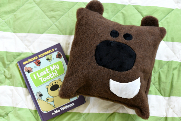 Sewing tutorial: Book character tooth fairy pillow
