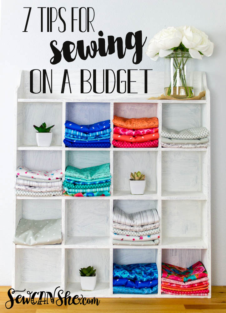 Tips for saving money on your sewing supplies