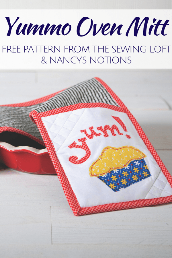 Sewing tutorial: Yummo double oven mitt