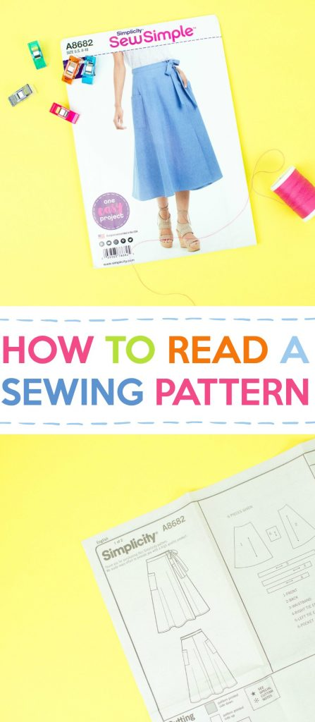 Sewing tutorial: Reading a sewing pattern