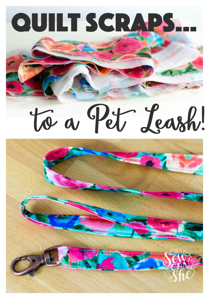 Sewing tutorial: Easy fabric lanyard or pet leash