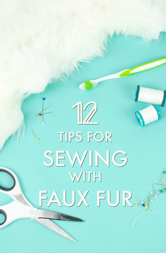Sewing tutorial: Tips for sewing faux fur