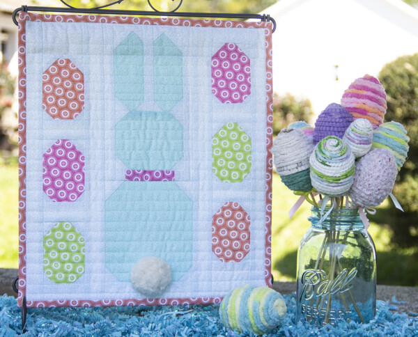 Sewing tutorial: Easter mini quilt