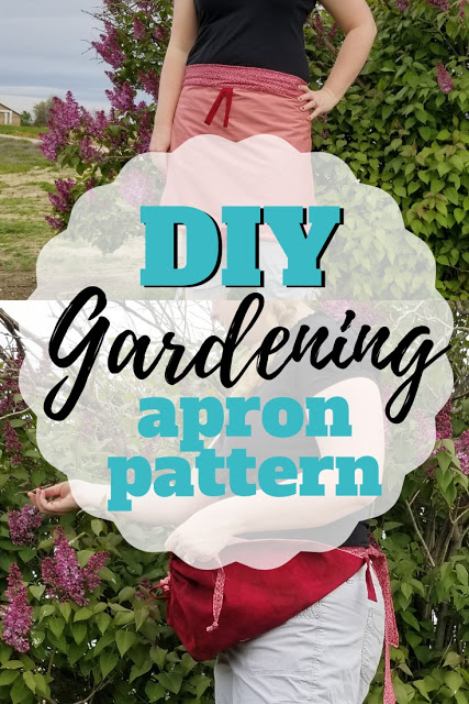 Free sewing pattern: Convertible gardening apron