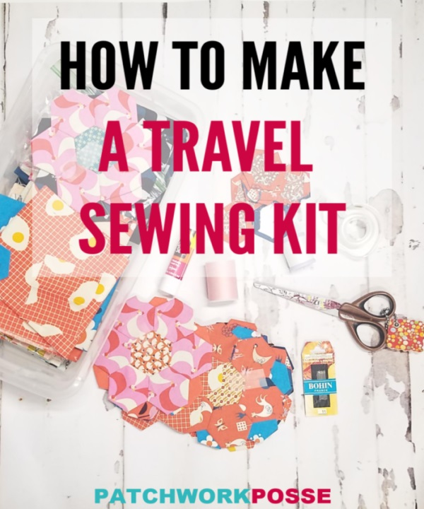 Tutorial: Create a travel sewing kit
