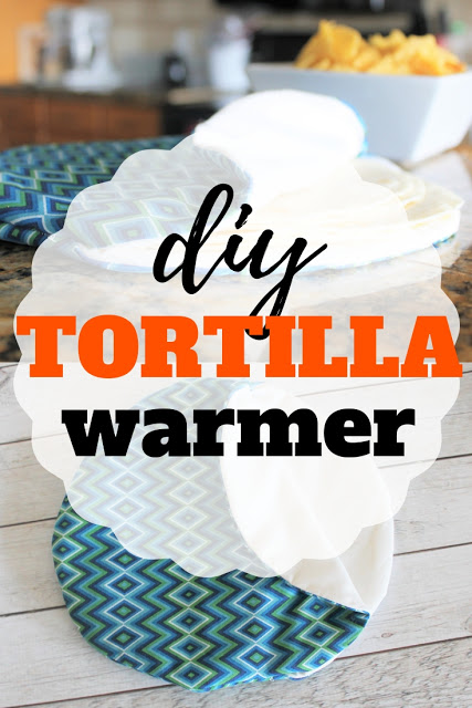 Sewing tutorial: Fabric tortilla warmer