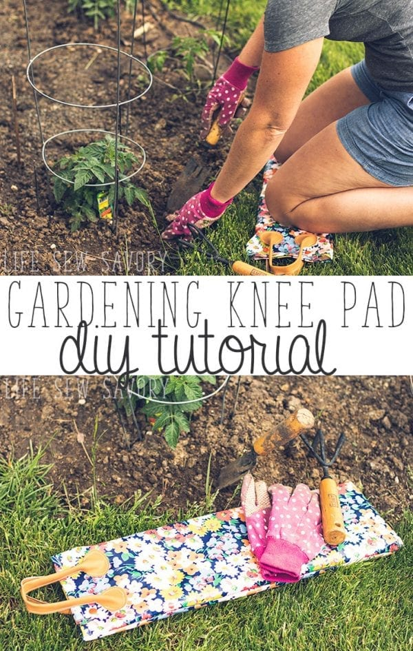 Sewing tutorial: Gardening knee pad