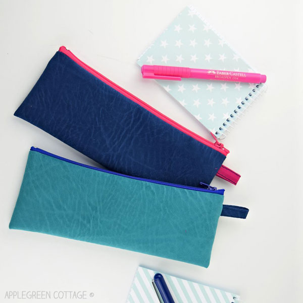 Sewing tutorial: Simple pencil pouch