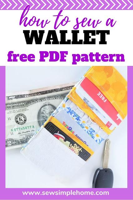 Sewing tutorial: Simple bifold wallet