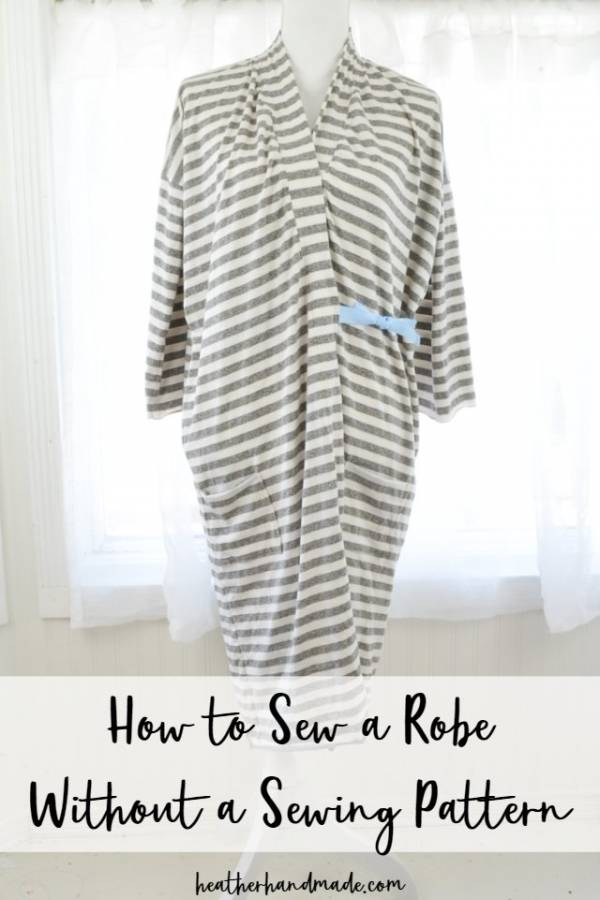Sewing tutorial: Lightweight robe