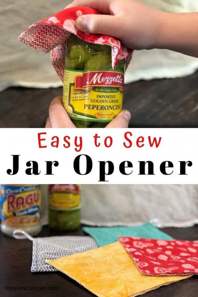 Sewing tutorial: Easy fabric jar opener