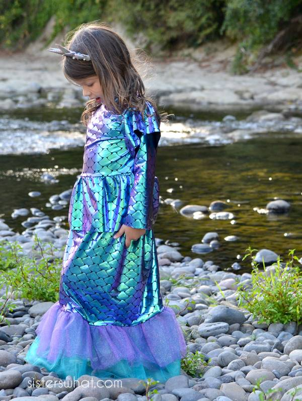 Sewing tutorial: Mermaid costume for little girls