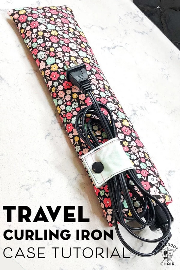 Sewing tutorial: Travel curling iron case