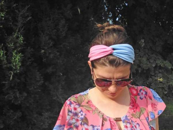 How to Sew an Easy Turban Headband - DIY Tutorial