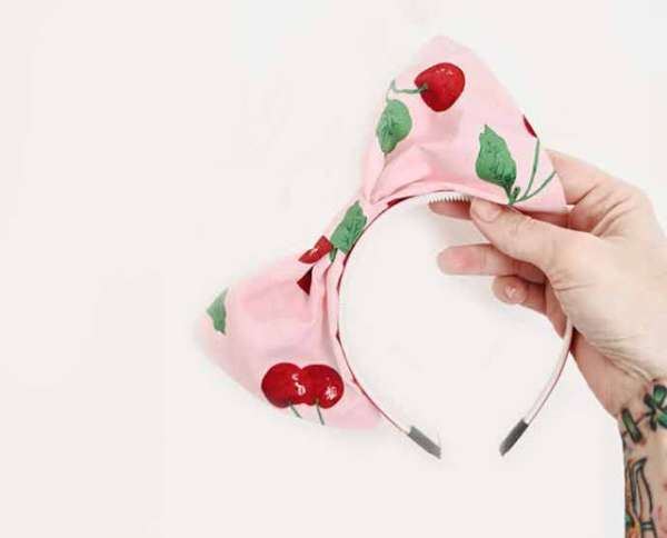 DIY Bow Headband - Sewing Tutorial