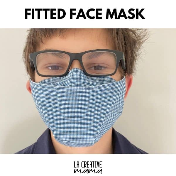 Fitted Face Mask for Glasses - DIY Sewing Tutorial