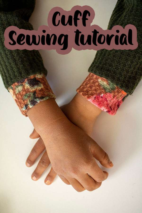 Convert a Sleeve Hem to a Cuff - DIY Sewing Tutorial
