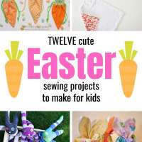 12 Cute Easter Sewing Projects to Make for Kids