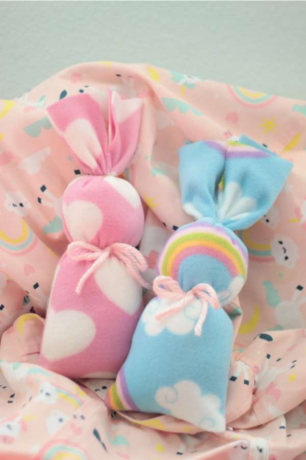 Easy Fleece Bunny Softie - Sewing Tutorial
