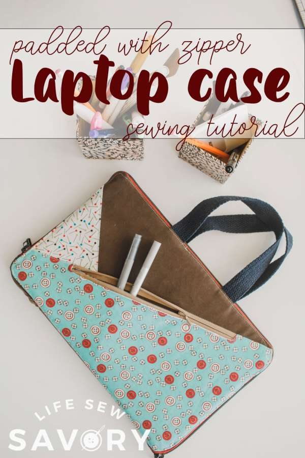 Padded Laptop Case or Tablet Case - DIY Sewing Tutorial