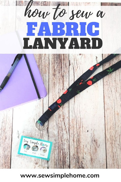 Sew a Simple Fabric Lanyard - DIY Tutorial