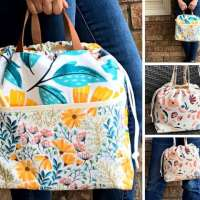 Sewing Bag Pattern, Craft Project Bag Patterns