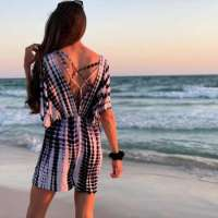Beach Romper Swimsuit Coverup - DIY Sewing Tutorial