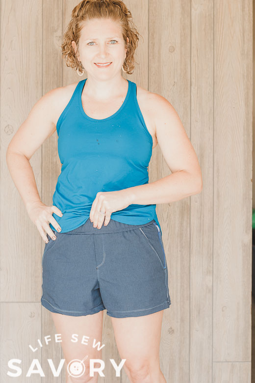 Sew Women's Athletic Shorts With This Free Pattern