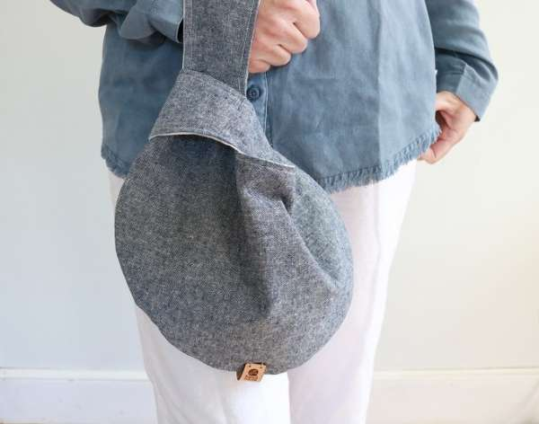 Easy Knot Bag Free Sewing Pattern