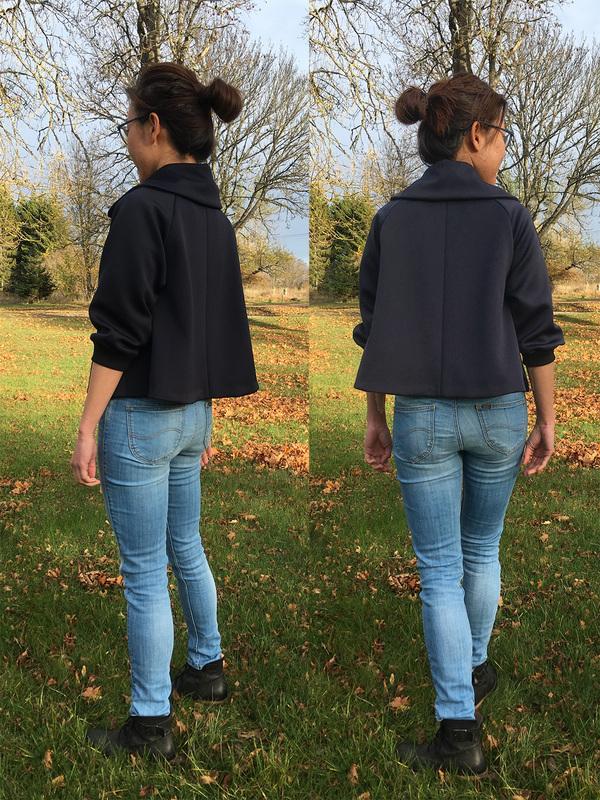 Back Fleur jacket