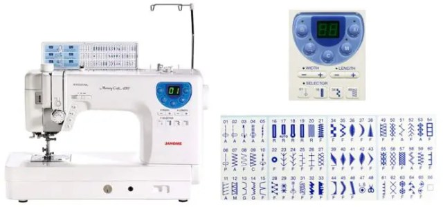 Electronic Sewing and Embroidery Machine