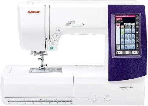 Janome 9850 Sewing Embroidery Machine