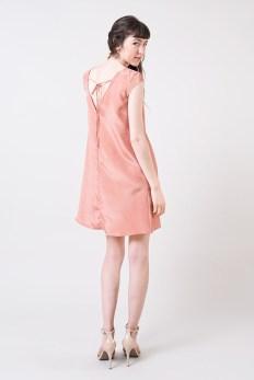 Seamwork's Kenedy Trapeze dress with open back