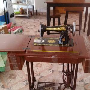 Treadle Sewing Machine Sponsorship