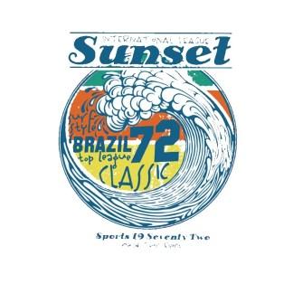 Vinyltryck sunset72