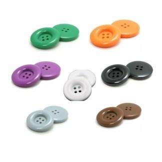 tjocka 4-håls knappar