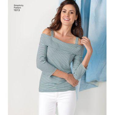 simplicity-tops-vests-pattern-1613-AV1