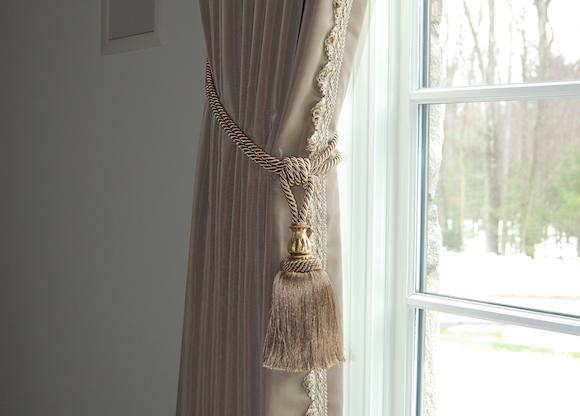 Fancy Window Treatment