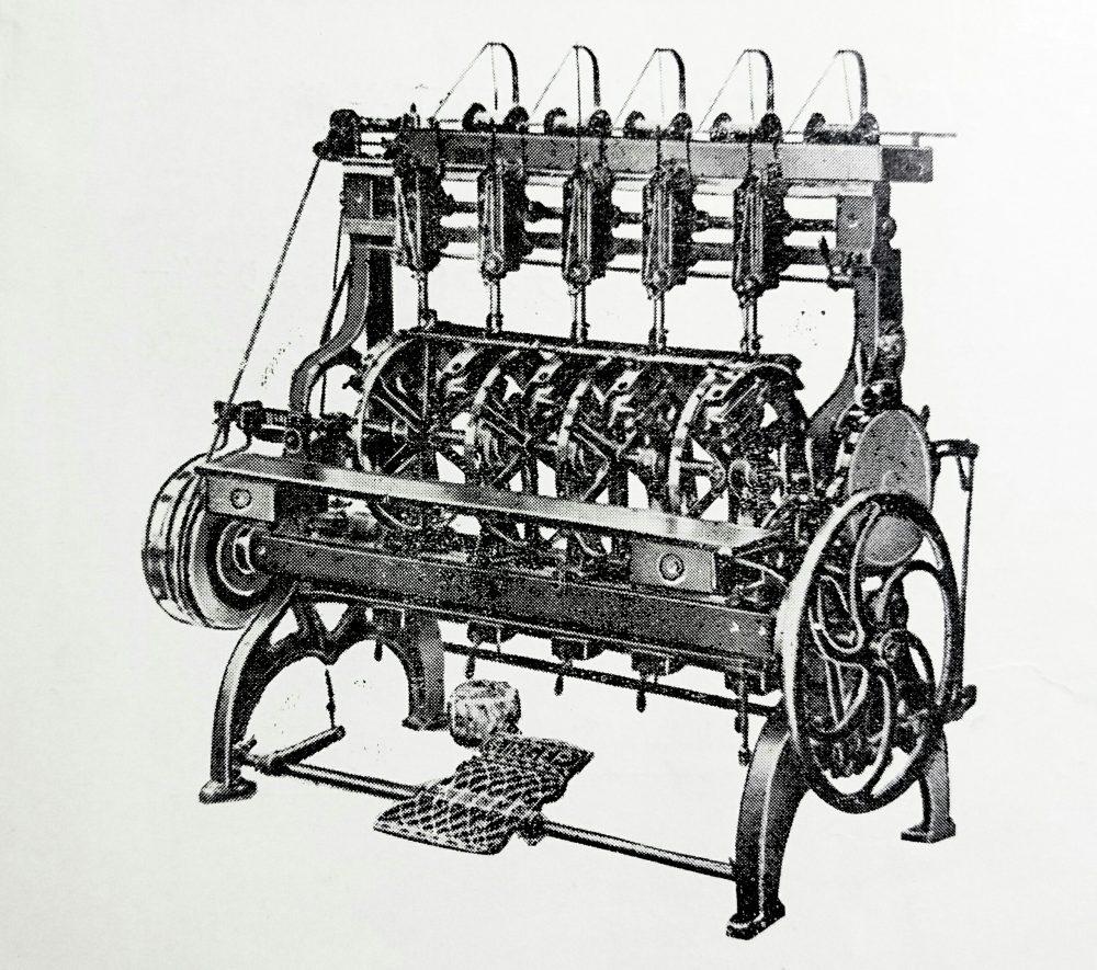 singer 14K11:レース製作機(編機)