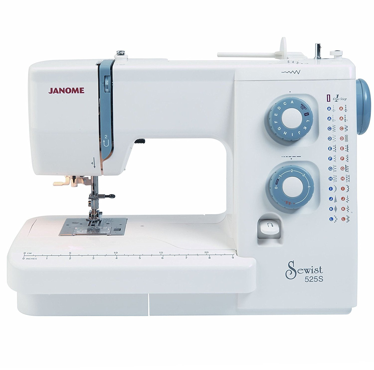 Domestic Standard Janome Sewing Machine Clip on//off  Presser Metal Foot