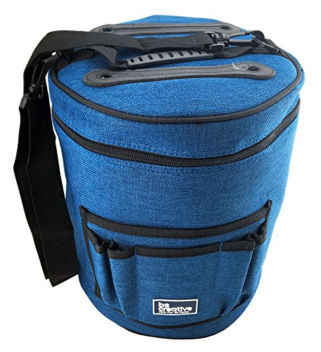 BEST YARN BAG / ORGANIZER FOR KNITTING. Portable, Light and Easy to Carry