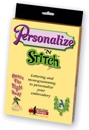 Amazing Design Personalize N Stitch lettering and monogramming software