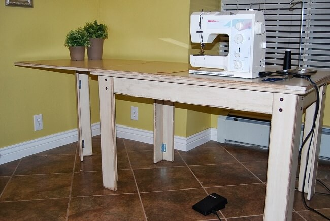 How To Make A Drop In Sewing Table Best Drop In Sewing Machine Table